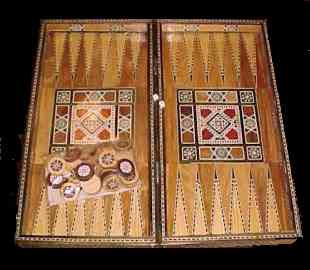 Backgammon Set - Click for larger view